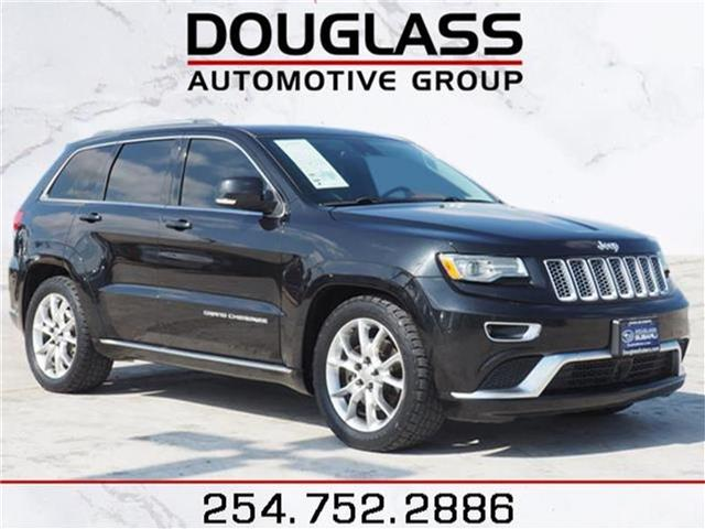 Pre-Owned 2015 Jeep Grand Cherokee SUMMI