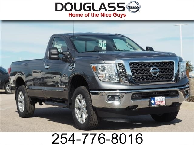 new 2017 nissan titan xd sv gas 4x2 single cab 139 8 in. Black Bedroom Furniture Sets. Home Design Ideas
