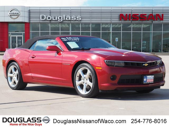 Pre-Owned 2015 Chevrolet Camaro LT w/2LT Convertible