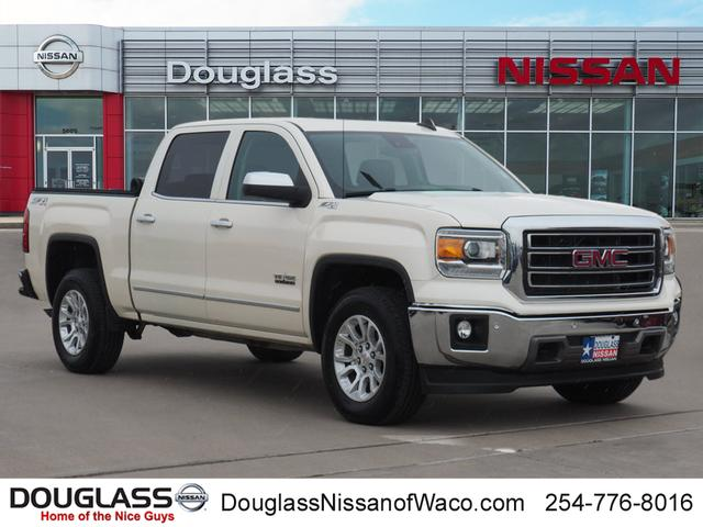 Pre-Owned 2015 GMC Sierra 1500 SLT 4x4 Crew Cab 6.5 ft. box 153.5 in. WB