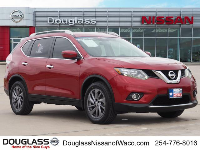 Certified Pre-Owned 2016 Nissan Rogue SL Front-wheel Drive