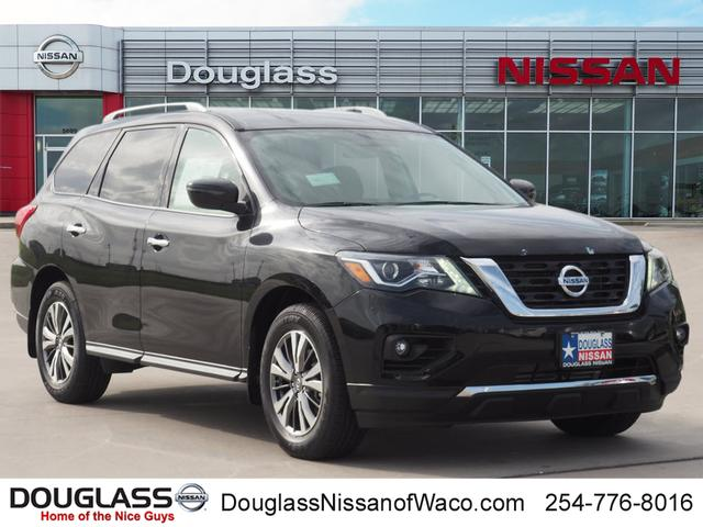 new 2018 nissan pathfinder sv front-wheel drive sv in waco #m902