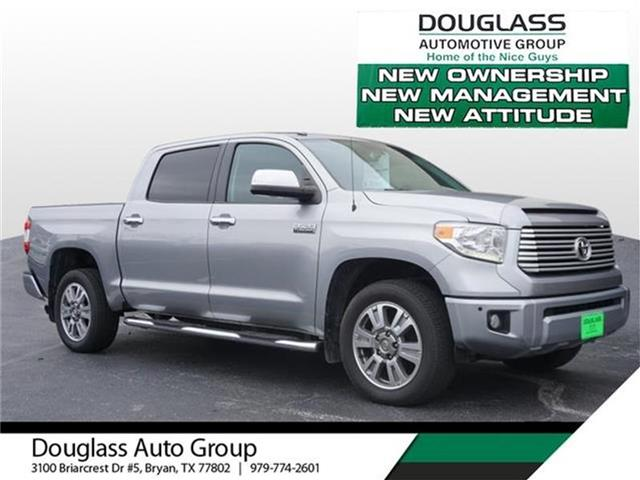 Pre-Owned 2014 Toyota Tundra Platinum 5.7L V8 w/FFV 4x4 Crew Max 5.6 ft. box 145.7 in. WB
