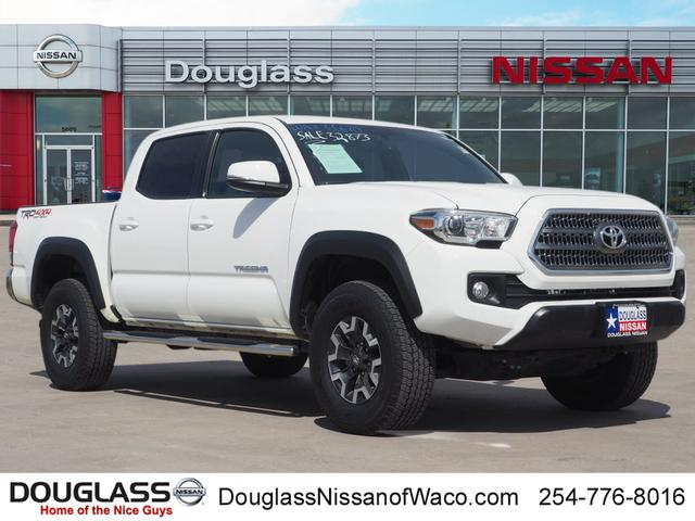 Pre Owned 2017 Toyota Tacoma Trd Off Road V6 4x4 Double Cab 127 4 In