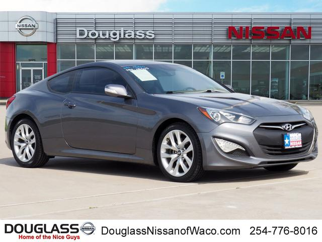 Pre-Owned 2016 Hyundai Genesis Coupe 3.8 w/Gray Seats (M6) Rear-wheel Drive