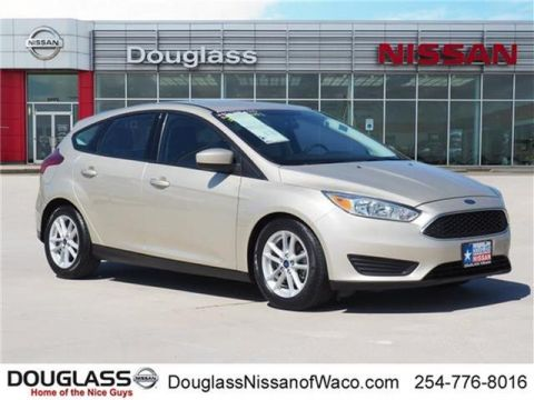 Pre-Owned 2018 Ford Focus SE 4dr Hatchback
