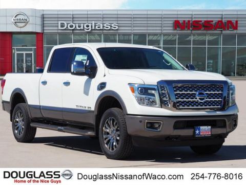 New 2018 Nissan Titan XD Platinum Reserve Diesel 4x4 Crew Cab 6.6 ft. box 151.6 in. WB