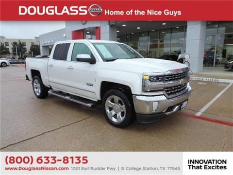 Pre-Owned 2016 Chevrolet Silverado 1500 LTZ w/1LZ 4x2 Crew Cab 5.75 ft. box 143.5 in. WB