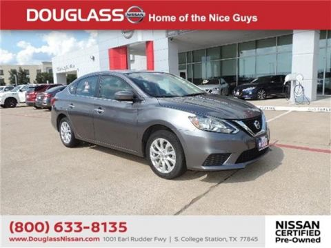 Certified Pre-Owned 2018 Nissan Sentra SV 4dr Sedan