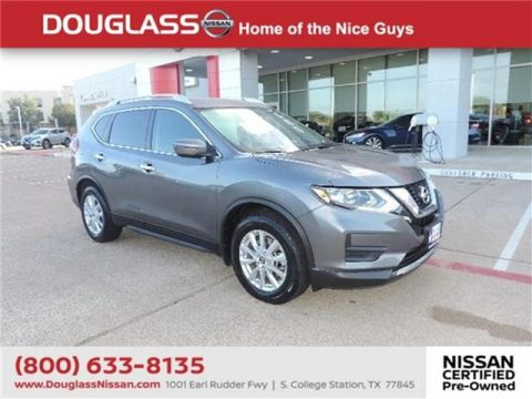 Pre-Owned 2017 Nissan Rogue SV 4dr Front-wheel Drive