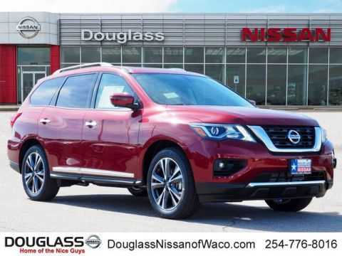 New 2019 Nissan Pathfinder Platinum Front-wheel Drive