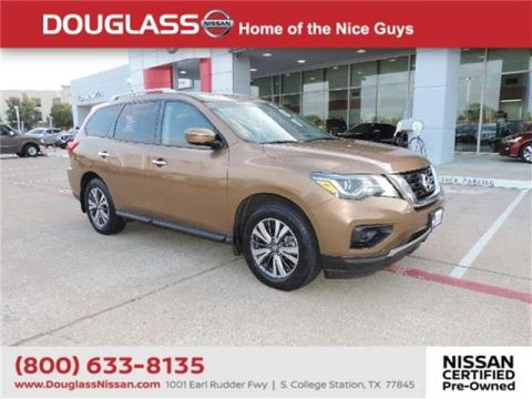 Pre-Owned 2017 Nissan Pathfinder SV 4dr Front-wheel Drive