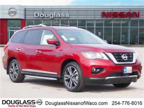 New 2019 Nissan Pathfinder Platinum 4dr Front-wheel Drive
