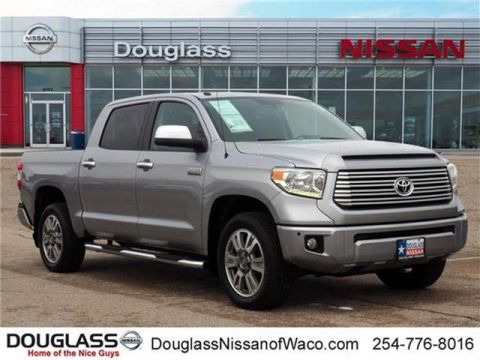 Pre-Owned 2014 Toyota Tundra Platinum 5.7L V8 4x4 Crew Max 5.6 ft. box 145.7 in. WB