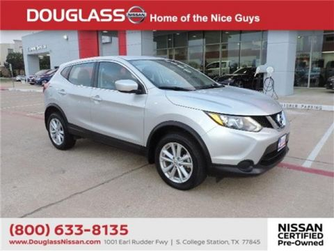 Pre-Owned 2017 Nissan Rogue Sport S 4dr Front-wheel Drive