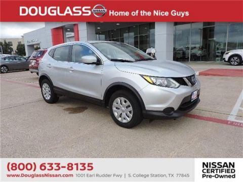 Certified Pre-Owned 2018 Nissan Rogue Sport S 4dr Front-wheel Drive